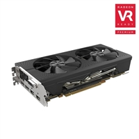 Sapphire Technology Pulse Radeon RX-580 Overclocked Dual-Fan 8GB GDDR5 PCIe Video Card