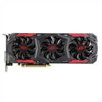 PowerColor AXRX Radeon Red Devil RX-570 Overclocked Triple-Fan 4GB GDDR5 PCIe Video Card