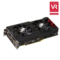 Photo - PowerColor Red Dragon AXRX Radeon RX 570 Dual-Fan 4GB GDDR5 PCIe Video Card