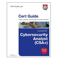 Pearson/Macmillan Books CompTIA Cybersecurity Analyst (CSA+) Cert Guide