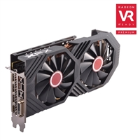 XFX Radeon RX-580 Overclocked Dual-Fan 8GB GDDR5 PCIe Video Card