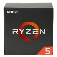 AMD Ryzen 5 1600 3.2GHz 6 Core AM4 Boxed Processor with Wraith Spire Cooler
