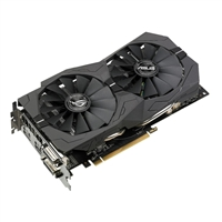 ASUS Radeon RX 570 ROG Strix Overclocked Dual-Fan 4GB GDDR5 PCIe 3.0 Video Card