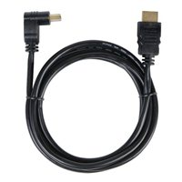 RCA HDMI Male to HDMI Male High Speed Cable w/ One Right Angle 6 ft - Black