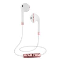Sentry Industries Bluetooth Earbuds - White/Rose Gold
