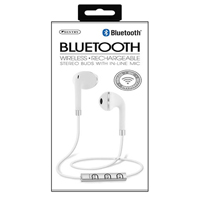 Sentry Industries Bluetooth Earbuds - White/Silver