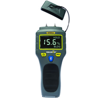 General Tools ToolSmart BlueTooth Connected Digital Moisture Meter