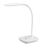 Artistic Mini Desktop LED Lamp, Rechargeable lithium battery. Sensor touch dimmer.