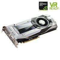 NVIDIA Founders Edition GeForce GTX 1080 Single-Fan 8GB GDDR5X PCIe Video Card Refurbished
