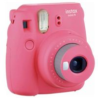 Fujifilm Instax Mini 9 Instant Camera - Flamingo Pink