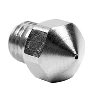 Micro Swiss MK10 Plated Wear Resistant Nozzle for PTFE lined hotend 0.2mm