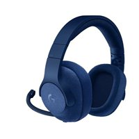 Logitech G433 7.1 Surround Sound Wired Gaming Headset - Blue