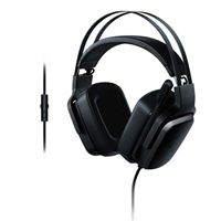 Razer Tiamat 2.2 v2 Gaming Headset: Dual Subwoofers - In-Line Audio Control - Rotatable Boom Mic - Works with PC - Classic Black