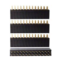 Schmartboard Inc. Schmartboard Inc. Short 2x20 Female Stackable Headers - Qty 4