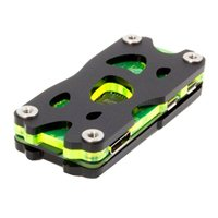 C4Labs Nucleus Zero Raspberry Pi Zero & Zero Wireless Case - Black/Laser Lime