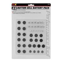 Performance Tools 44pc Button Cell Battery Pack