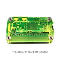 C4Labs Zebra Zero Raspberry Pi Zero/Zero Wireless Case - Laser Lime