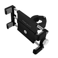 MacAlly Bike Holder Mount Secure Bicycle - Black