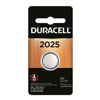 Duracell CR2025 3 Volt Lithium Coin Cell Battery - 1 Pack