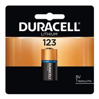 Duracell Ultra Lithium #123 Photo Battery