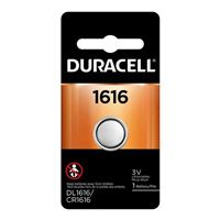 Duracell CR1616 3 Volt Lithium Coin Cell Battery - 1 Pack