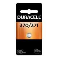 Duracell 370/371 1.5 Volt Silver Oxide Button Cell Battery - 1 Pack