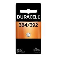 Duracell 384/392 1.5 Volt Silver Oxide Watch Battery