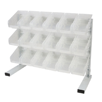 Performance Tools Dual Position Bin Rack - 18 Piece