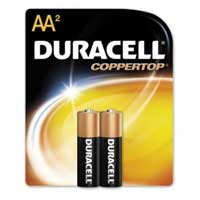 Duracell CopperTop AA Alkaline Battery - 2 Pack