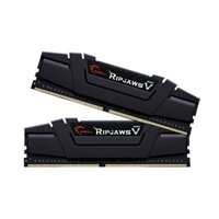 G.Skill Ripjaws V 16GB (2 x 8GB) DDR4-3200 PC4-25600 CL16 Dual Channel Desktop Memory Kit F4-3200C16D-16GVKB - Black