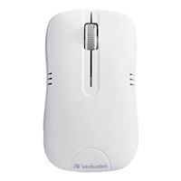 Verbatim Wireless Mouse - Commuter Series - White