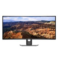 "Dell UltraSharp U3818DW 37.5"" WQHD+ 60Hz HDMI DP Curved IPS LED Monitor"