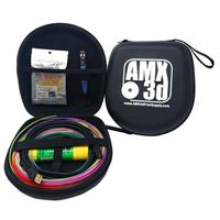 AMX3d 3D Pen Case and Accessory Kit w/ Mixed Color 3D Pen Filament Pack