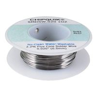 "Chip Quick Solder Wire No Clean - 0.020"" 1 oz."