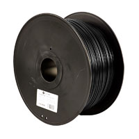 Aleph Objects 2.85mm True Black PLA 3d Printer Filament - 3kg Spool (6.6 lbs)
