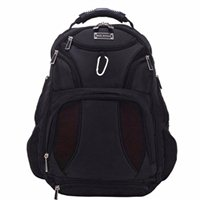 "Eco Style Jet Set Smart Notebook Backpack Fits Screens up to 16"" - Black"