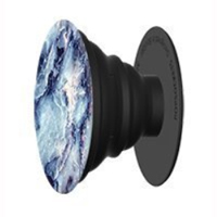 PopSockets Cell Phone Grip and Stand Aluminum - Blue Marble