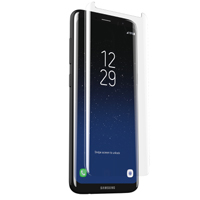 Zagg Sapphire Defense InvisibleShield Curved Hybrid Screen Protector for Samsung Galaxy S8