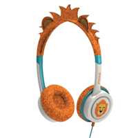Zagg iFrogz Little Rockers Kids Lion Headphones - Orange (Lion)