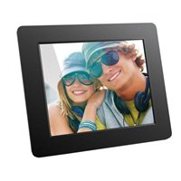 "Aluratek 8"" Digital Photo Frame - Black"