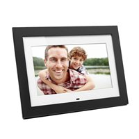 "Aluratek 10"" Digital Photo Frame w/ 4GB Built-in Memory and Remote - Black"
