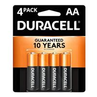 Duracell CopperTop AA Alkaline Battery - 4 pack