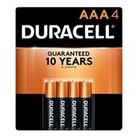Duracell CopperTop AAA Alkaline Battery - 4 pack