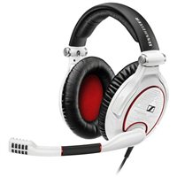 Sennheiser GAME ZERO Analog Universal Gaming Headset - White/Red