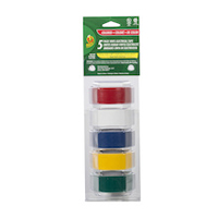 Duck Brand Professional Electrical Tape 0.75 in. x 12 ft. 5-pack - Multi Color