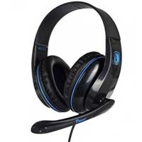 Sades SA-701 Gaming Headset - Blue