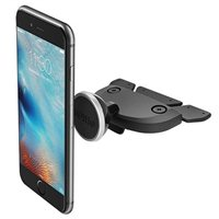 iOttie Easy One Touch Grip Clip Mini CD Slot Phone Mount - Black