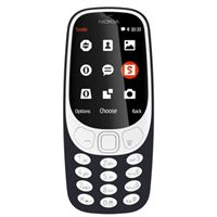 Nokia 3310 Unlocked 3G - Black Feature Phone