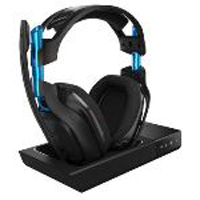 Astro Gaming A50 Wireless Headset with Base Station - Black/Blue