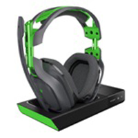 Logitech G A50 Wireless Headset with Base Station (Grey/Green)